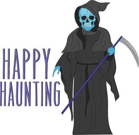 to gather: Warning. Ghosts gather here.  Prepare to have a hauntingly delightful Halloween with this design on t-shirts, hoodies, hats, warm-ups and more for the little ones.