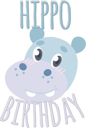 herbivore: Put the cute in kids' embroidery with the popular hippo motif on bodysuits, layettes, t-shirts, hats, bibs & more!
