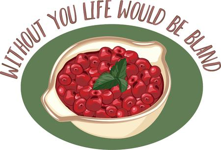 home addition: Cranberries make a flavorful addition to many Thanksgiving side dishes and desserts. Make a perfect gift with this design on table runners, kitchen linens, home decor and other holiday projects.