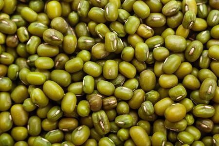 fresh muung beans background.