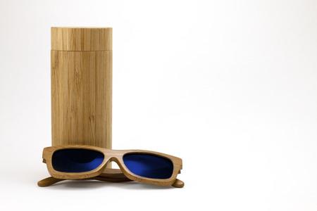 Wooden Sunglasses Imagens