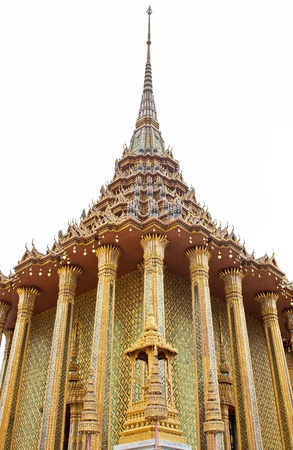 Thai traditional angle in Wat Phra Kaew Temple02 photo