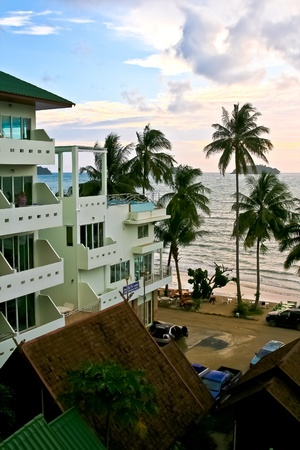 July16-17,2011 journey to Siam Beach hotel, Kohchang Tropical Island, Thailand Stock Photo - 13373129