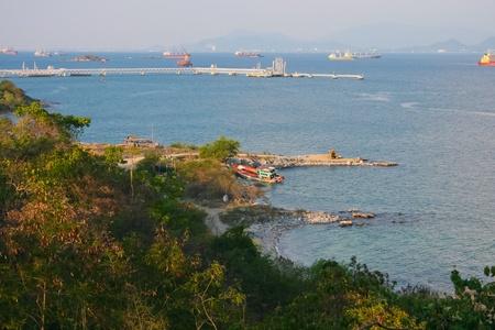 Sri chang island at sriracha ampor ,chonburi province,Thailand photo