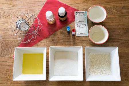 yourself: Ingredients to make marshmallow yourself