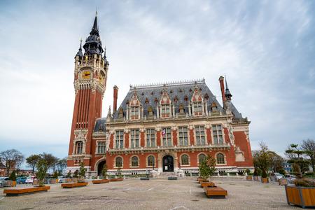 calais: City hall of Calais, France Stock Photo