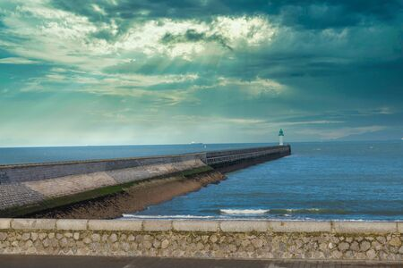 Jetty of Calais, France