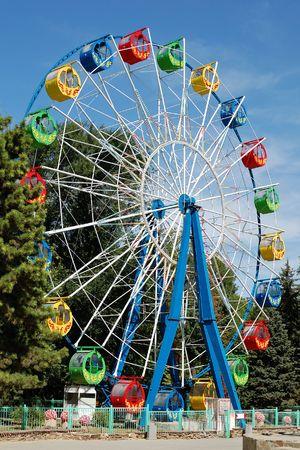 amusement: Ferris wheel Stock Photo