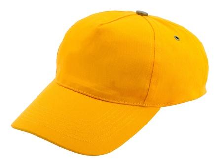 casquette: Casquette de baseball sur fond blanc Banque d'images