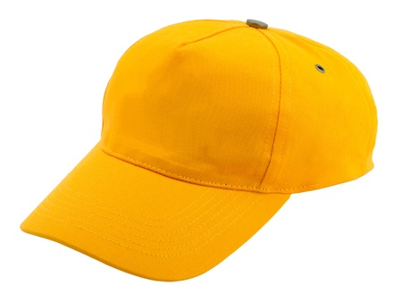gorro: Gorra de b�isbol sobre fondo blanco