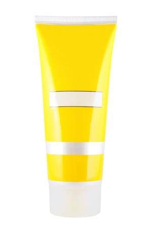 Cosmetic tube isolated on white background Stock Photo - 9342425