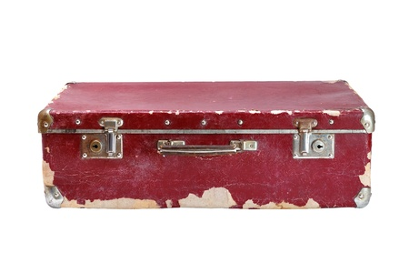 old container: Old suitcase