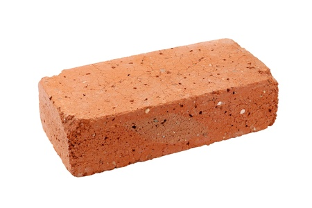 1 object: Old red brick Stock Photo
