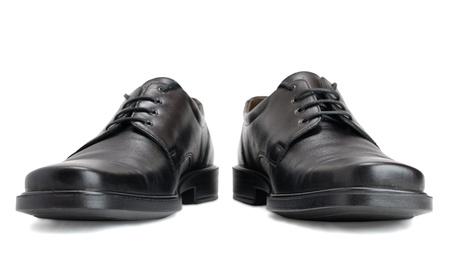 mens shoes: Men Stock Photo