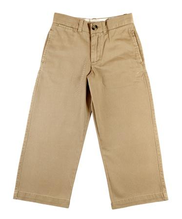 Pantalones de los niños aislados en fondo blanco Foto de archivo - 13442211