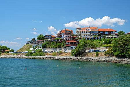 europe travel: Coast in old city of Nessebar, Bulgaria