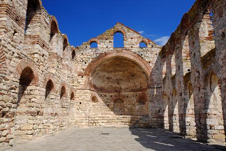 sophia: Church of Saint Sophia in old city of Nessebar, Bulgaria Stock Photo