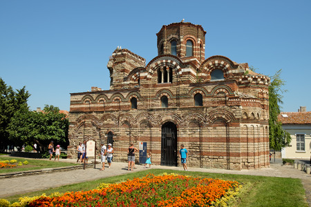 pantocrator: NESSEBAR, BULGARIA - JULY 18, 2015: The Church of Christ Pantocrator in old town of Nessebar, Bulgaria.
