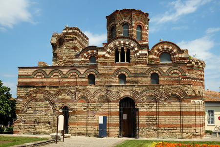 pantocrator: Church of Christ Pantocrator in old town of Nessebar, Bulgaria