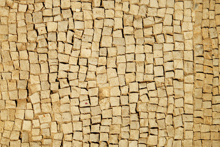 mosaic floor: Background of stone mosaic floor