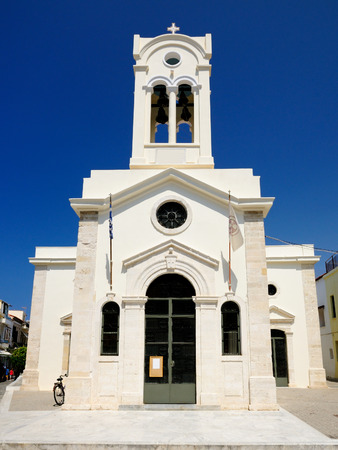 rethymno: Church of Our Lady of the Angels in Rethymnon, Crete, Greece