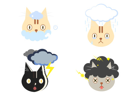 dying: Cat Cloud Afro