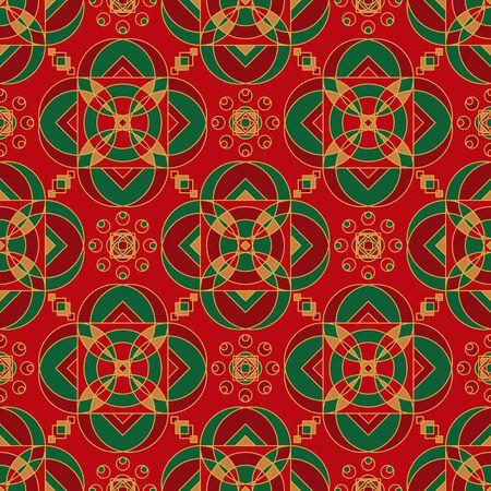 Sweet Melody Of Rajasthan Seamless Pattern Vecteurs