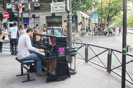 performer: France Street Performer