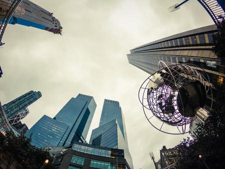 Globe outside Trump Tower, Columbus Circle - Manhattan - New York