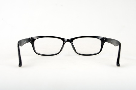 look through window: Glasses Stock Photo