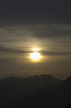 majestic sunset photo