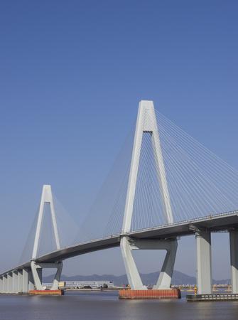 tallest bridge: highway and bridge