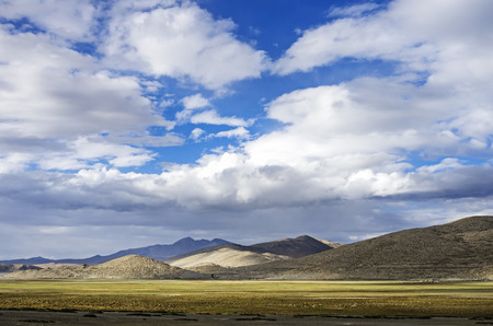 scenery in Ladakh India with   Himalayan mountain ranges.