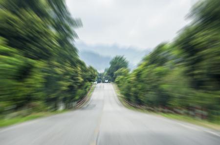 motion blur of the highway road. Stock fotó