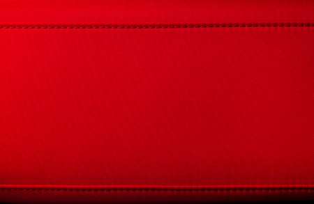 clutch bag: closeup of the little womens handbag - clutch bag from red fabric Stock Photo