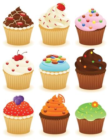 Cupcakes !! Stock fotó - 10119123