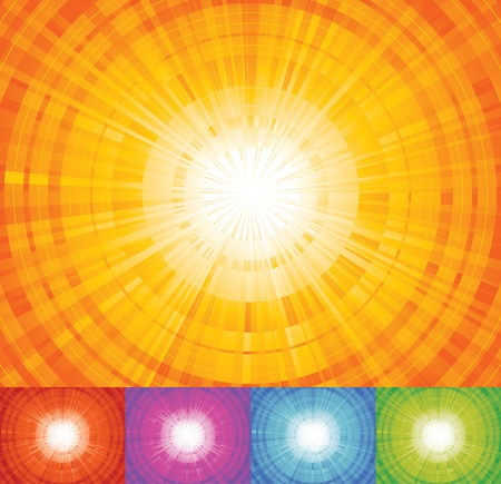 vanishing point: Sunbeam!