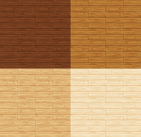 timbered: Seamless wood floor. 4 variations.
