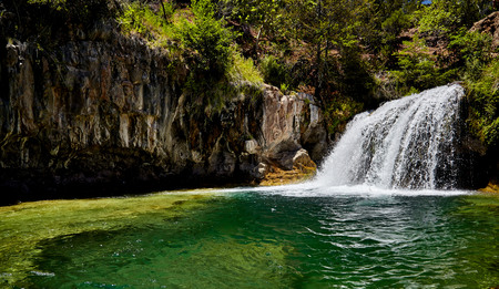 clear water: Clear water running over rocks at Fossil Creek, Arizona