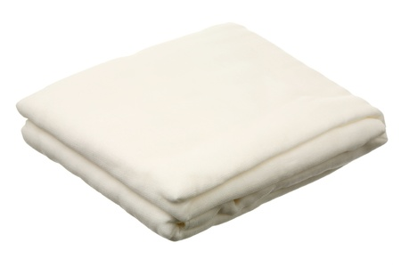 Gauze roll isolated on a white background  photo