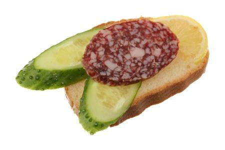 sandwiche: Sandwiche si � isolato su uno sfondo bianco