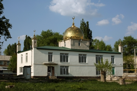 New mosque, North Caucasus, Russia  photo