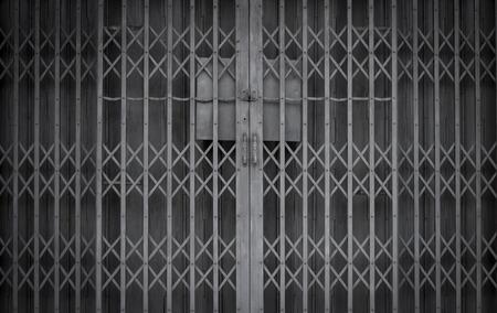 retro iron door photo