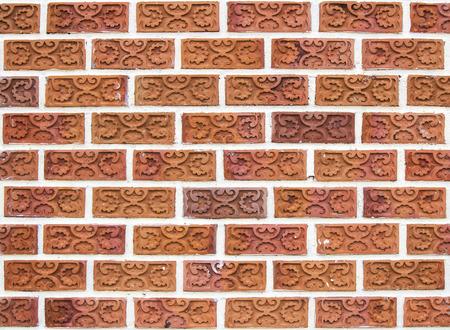 beautiful unique brick wall background photo