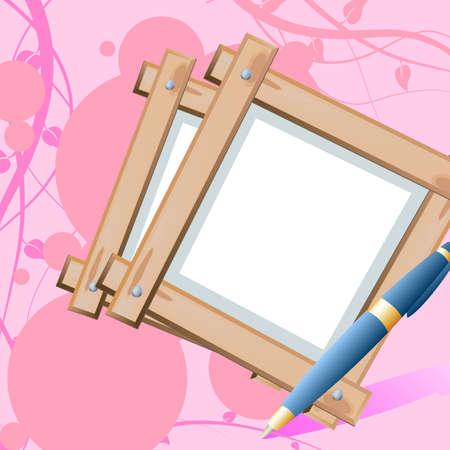 romance letter Stock Vector - 5053669