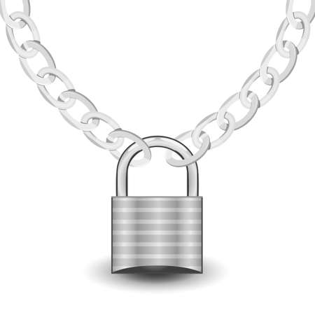 lock on the chain Vector