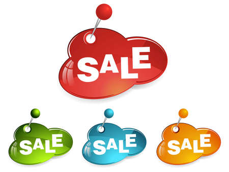 sale sign tags