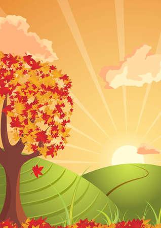 horizont: autumn atmosphere