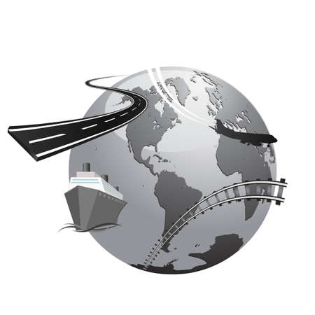international transportation concept