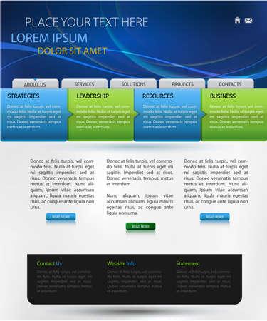 web design template
